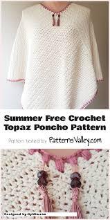 Free Crochet Poncho Pattern Simple Decorating