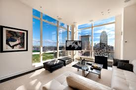 ApartmentsGorgeous White Manhattan Penthouse Apartement Design - Nyc luxury apartments for sale