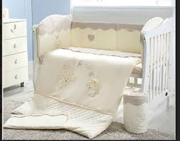 100 organic cotton 3 piece baby nursery crib bedding set for boys and girls by