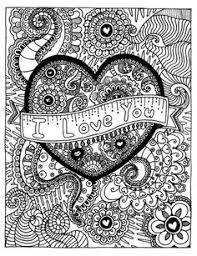 Small Picture Color My Heart Happy Coloring Page Free coloring Adult coloring