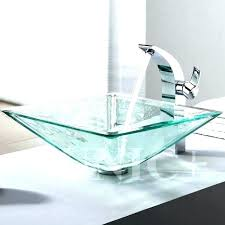 glass bowl sink interior glass bowl vanity kitchen and bathroom sinks glass sink ideas for inside