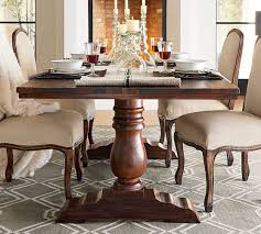 pottery barn bowry reclaimed wood fixed dining table ecofriendly pottery barn dining furniture sale table m50