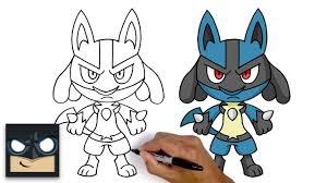 Làm thế nào để vẽ Lucario | Pokemon - Phim hoạt hình trực tuyến
