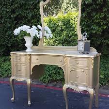 diy metallic furniture. DIY Furniture · Champagne Metallic Paint By Modern Masters On Vanity | Project Loft 2 Diy