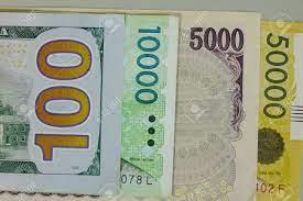 米ドル 韓国 ウォン