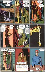 how i imagine rorschach s voice when i watchmen rorschach s speech the last panels aren t his journal either notice the fragmented sentences