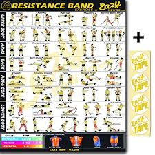 Resistance Tube Workout Chart