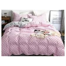 deals for less black hearts single size bedding set of four