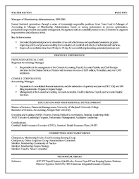 Executive Resume Life Insurance Samples Fina Peppapp