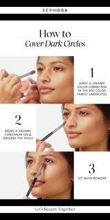 learn how to cover dark circles want more dels the image to watch