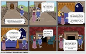 macbeth act scene storyboard by xcelester