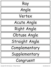 ged math geometry worksheets – streamclean.info