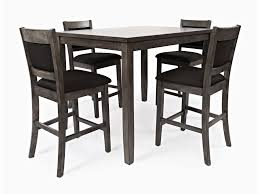 Braden 5 Piece Counter Height Dining Set Includes Table And 4 Chairs