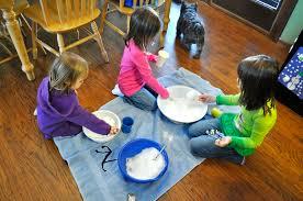 indoor activities for kids. 1) Bring The Snow Indoors! Indoor Activities For Kids