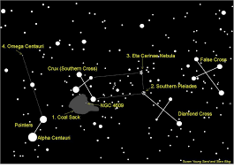 Omega Centauri Star Chart Big 5 Of The African Sky Sand And Stars