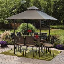 umbrella canopy table outdoor dining sets a   ae efede beaadbcde