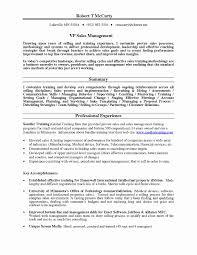 Sales Manager Resume Samples Free Unique Training Manager Resume