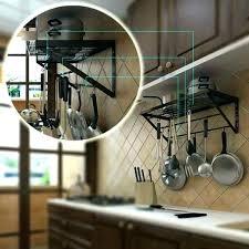 pot lid organizer diy hanging pot and pan rack hanging pot and pan rack kitchen pan
