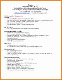100 Occupational Therapy Resume Occupational Therapy Resume