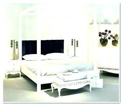 King Size 4 Poster Canopy Bed King Size Canopy Bed With Curtains 4 ...