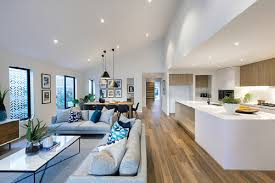 Furnishing open plan living | Modern open plan floorplans | ID Studio,  interior design by