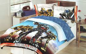 transformers battle continues twin single bed sheet set optimus