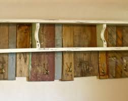 Reclaimed Wood Coat Rack Shelf Reclaimed wood rack Etsy 15