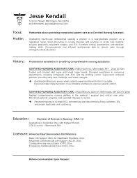 Cover Letter For Nurses Cover Letter Nurse Certified Nursing