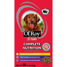 Dog Food Rating Chart 2013 Ol Roy Complete Nutrition Dry Dog Food 50 Lb Walmart Com