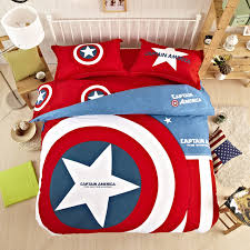 33 winsome ideas king size superman bedding new unique batman sets home textile american hero captain america set 3