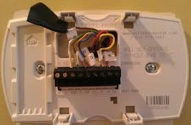 lennox thermostat wiring diagram heat pump wiring diagram replacing honeywell ct3611 rth7600d thermostat on lennox heat