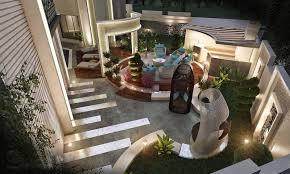 Modern Landscape Design Polystone Garden Design Dubai