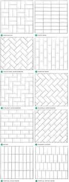 Brick Pattern Tile Layout Cool Inspiration Design