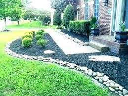flower bed edging garden border ideas designs decorative metal for beds stone fl