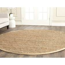 newest round natural fiber rug of safavieh casual natural fiber hand woven natural jute rug