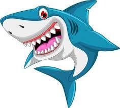 shark clipart. Brilliant Clipart Angry Shark Cartoon Illustration To Shark Clipart