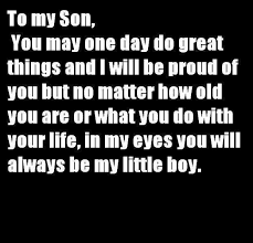 Love Quotes For My Son Awesome Love You Son Quotes On QuotesTopics