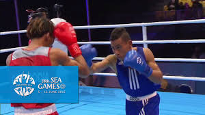 Boxer Light Boxing Day 2 Mens Light Flyweight 46kg 49kg Bout 21 28th Sea Games Singapore 2015