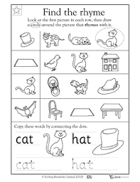 Small Picture 3rd grade Math Worksheets 2 pairs of feet Rhyming words