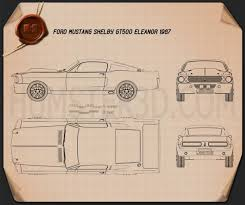 ford mustang shelby gt500 eleanor 1967