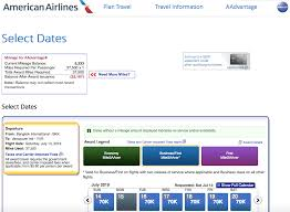 American Airlines Award Travel Chart Japan Airlines Awards Now Bookable Online Through American