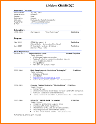 Gallery Of 10 Example Of A Good Cv Coaching Resume Cvs Resume