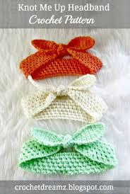 Crochet Baby Headband Pattern Beauteous Crochet Headbands For Babies 48 Free Patterns DIY Crafts