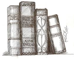 1412x1130 how to draw books in shelf which can be read