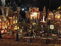 Miniature Village Street Lights Dept 56 Dickens Miniature Village Display Miniature