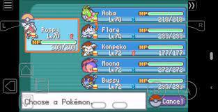 My Pokemon Dreams team. Personally my new favorite rom hack of all time.:  PokemonHallOfFame