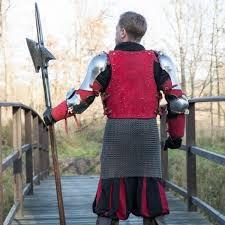 Brigandine Class Chart Epic Armoury 15th Century Brigandine Red