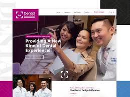 Dental Office Website Design Magnificent Dental Designs Of White Marsh By Brett Callaghan Dribbble