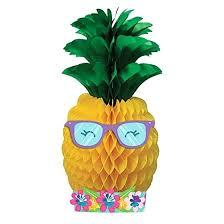 pineapple tissue paper diy n friends centerpiece