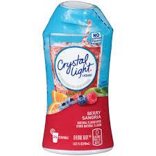 Crystal Light Sugar Free Crystal Light Liquid Energy Drink Berry Sangria 1 62 Ounce